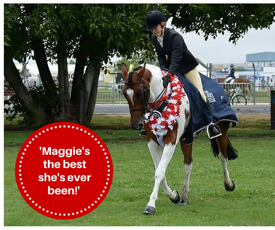 Maggie's the best she's ever been!