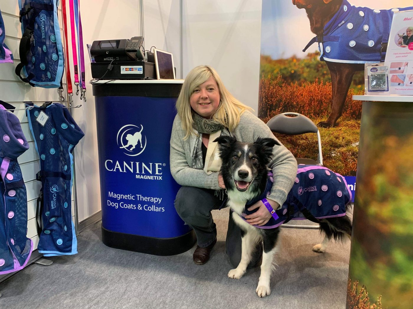 Crufts 2019 - Sam and Zac