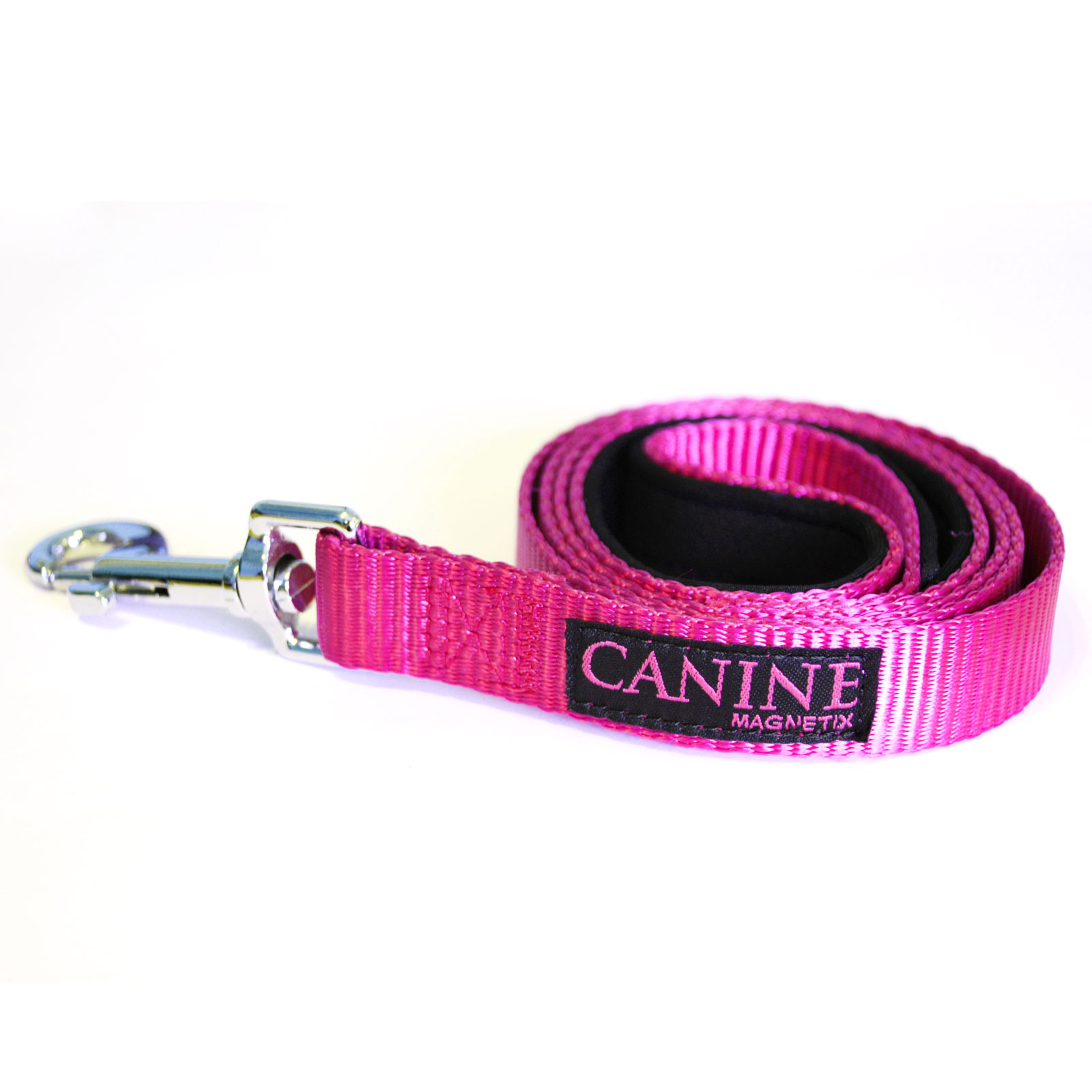 Pink dog collar lead - Canine Magnetix