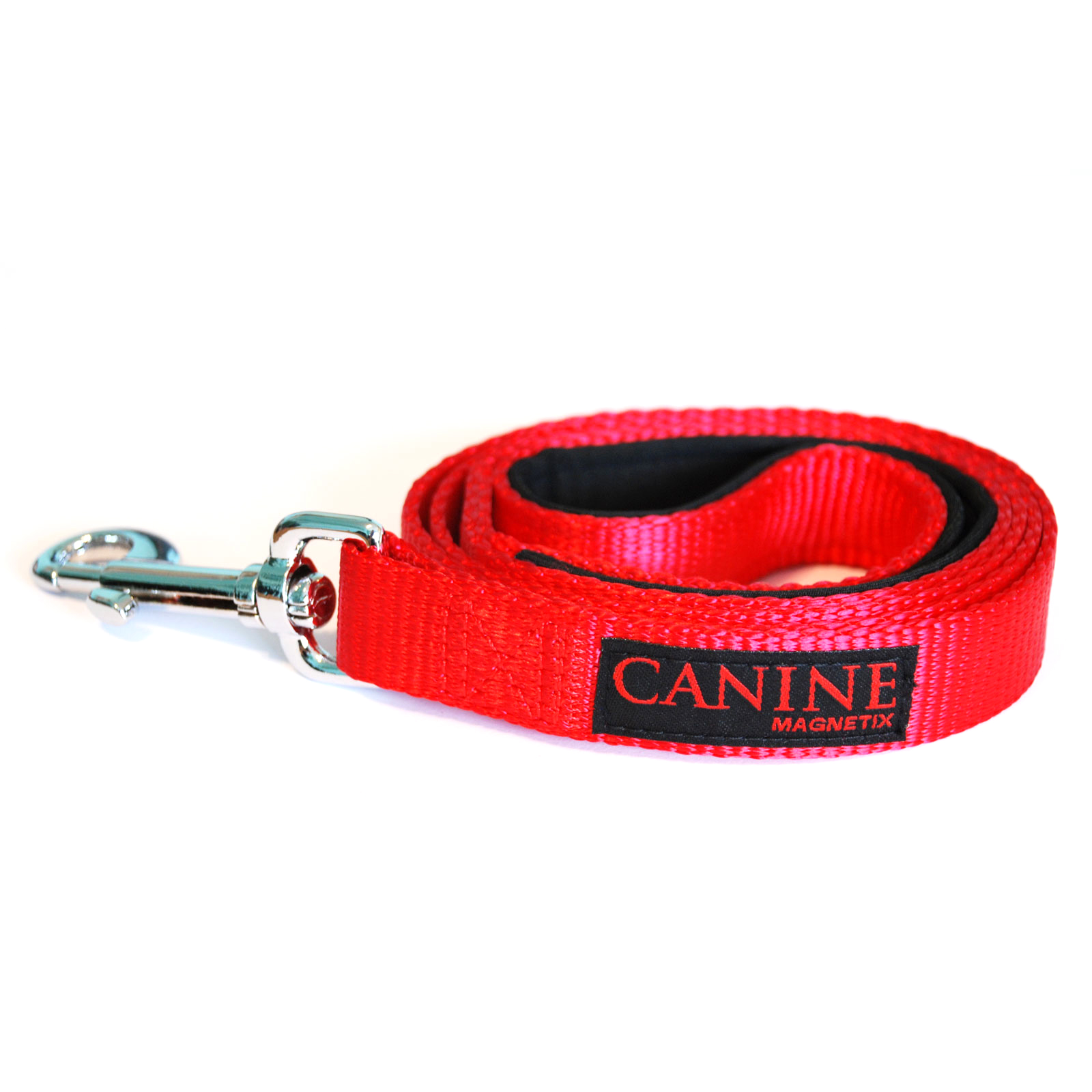 Red dog collar lead - Canine Magnetix